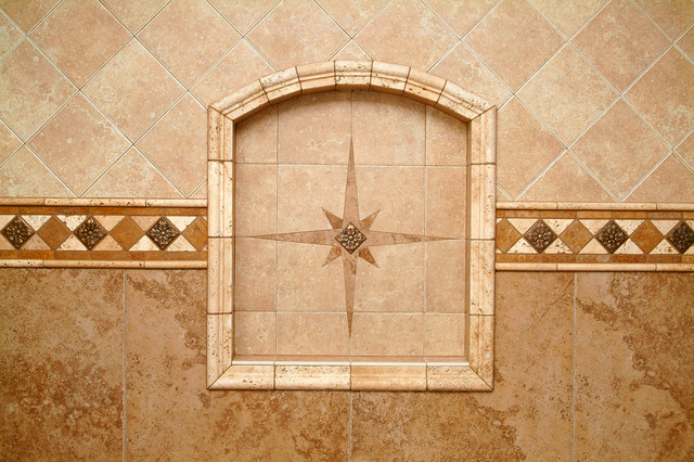 Preformed Receseed Shower Niche - Bathroom - seattle - by All Tile