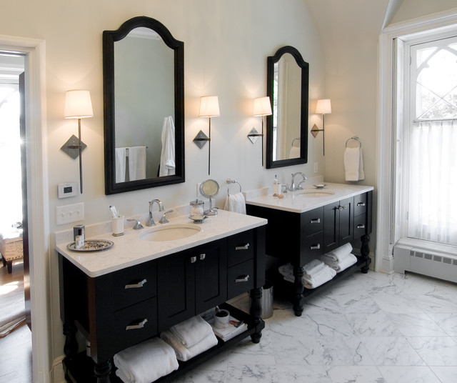 Presidents House Goes From Outdated To Fabulous British Colonial Bathroom