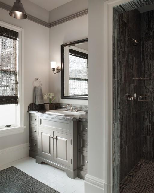 Presidio Heights Home - Traditional - Bathroom - San ...