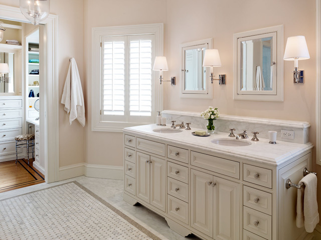Presidio Heights Residence traditional bathroom