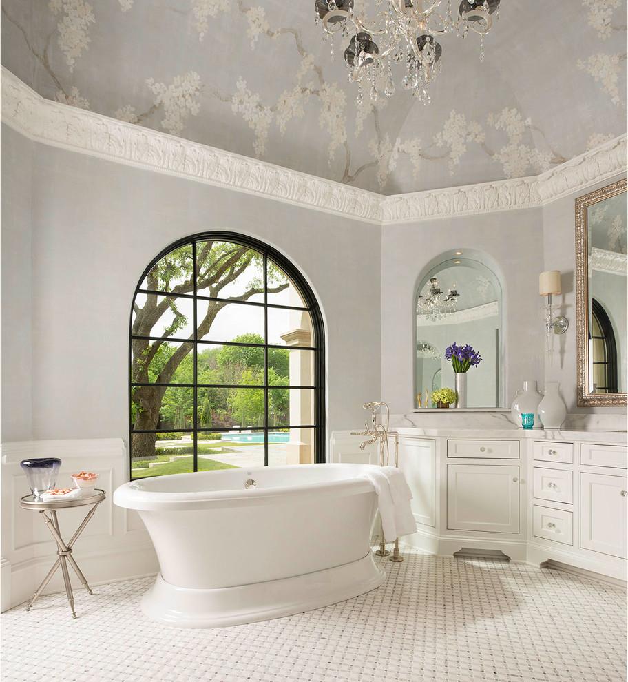 Preston Hollow Estate - Traditional - Bathroom - Dallas ...
