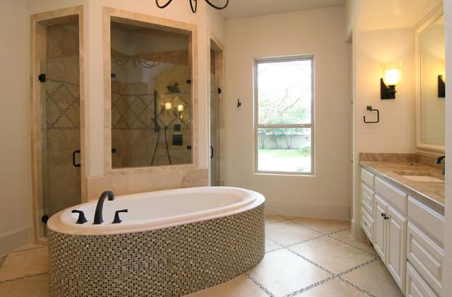 Preston Hollow Tuscan traditional-bathroom