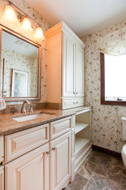 Preston Trail Interior Remodel traditional-bathroom