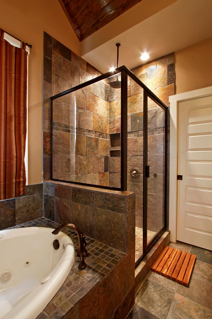 Previous work craftsman bathroom other metro by for Craftsman bathroom design