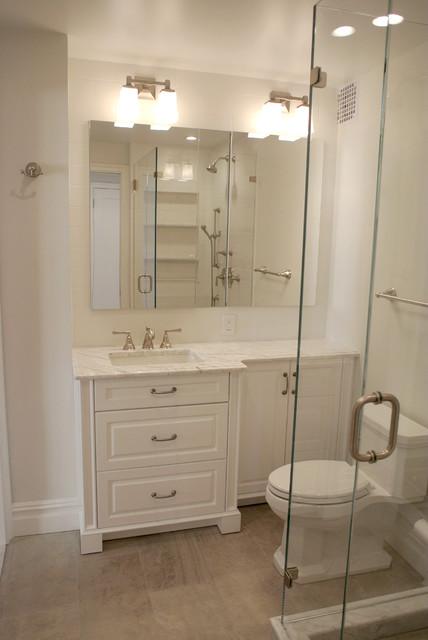 Prewar Gut Renovation Traditional Bathroom New York