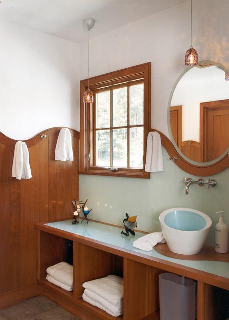 Prides Pool House modern-bathroom
