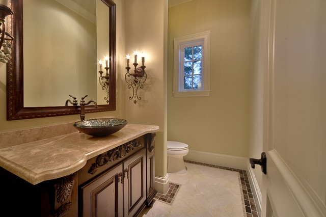 Inspiration for a timeless 3/4 bathroom remodel in Houston