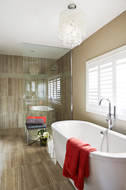 Prince Albert Reno Contemporary Bathroom Toronto By Designing Durham
