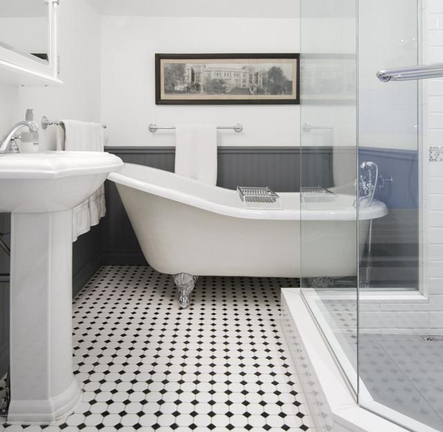 princess st heritage house farmhouse bathroom vancouver by falken reynolds interiors. Black Bedroom Furniture Sets. Home Design Ideas