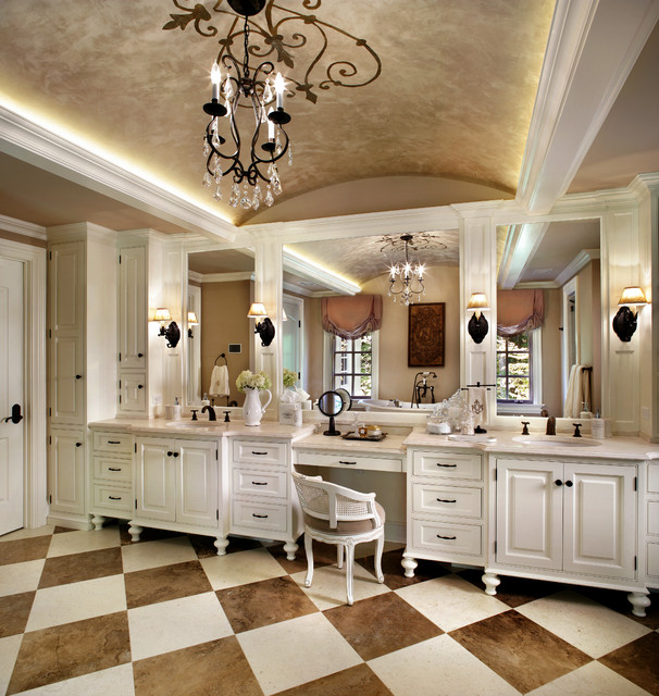 French Country Bathroom Flooring: Princeton Chateau