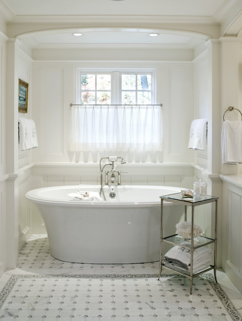 Private bathing area - Traditional - Bathroom - Boston - by The ...