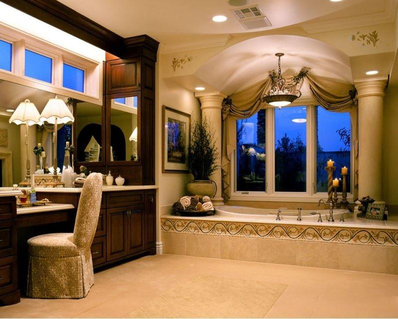 Private Custom Home Las Vegas - Traditional - Bathroom ...