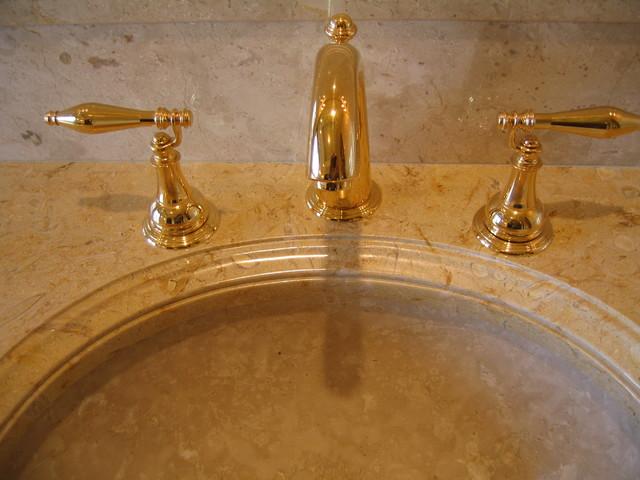 Private estate Rancho Santa Fe traditional-bathroom