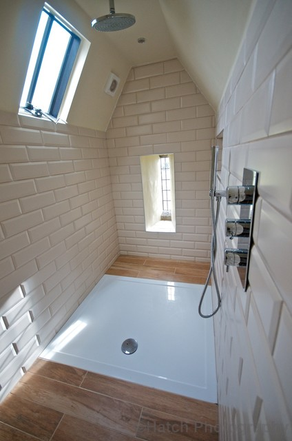 Private home north yorkshire contemporary bathroom for Bathroom design yorkshire