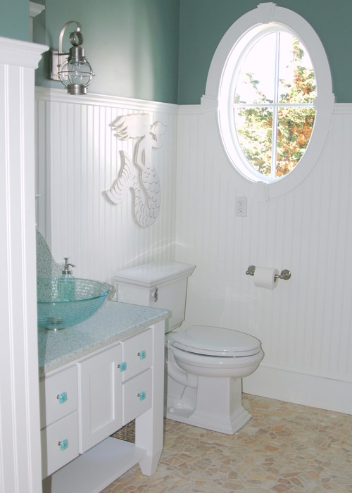 Private Island Paradise - Powder Room
