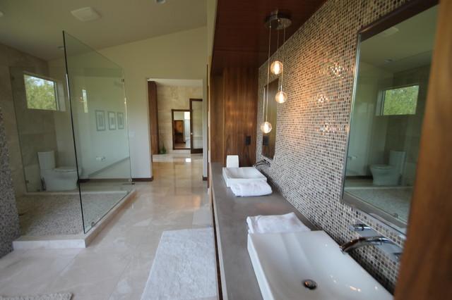 Private Residence 001 contemporary-bathroom