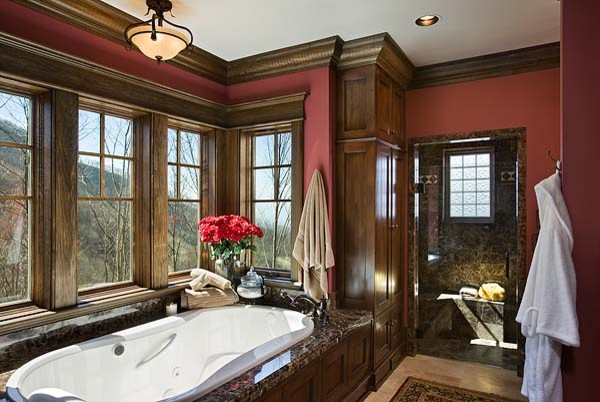 Private Residence, Balsam Mountain Preserve traditional-bathroom