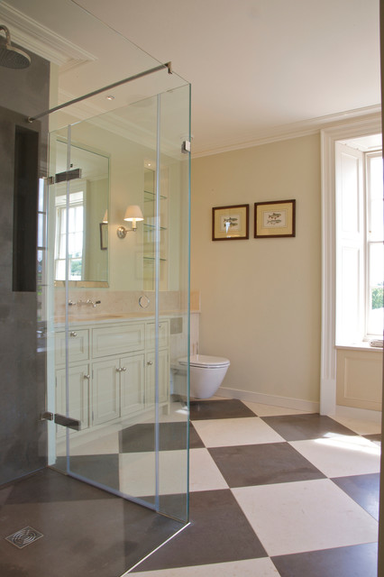 Private residence exeter traditional bathroom for Bathroom designs exeter