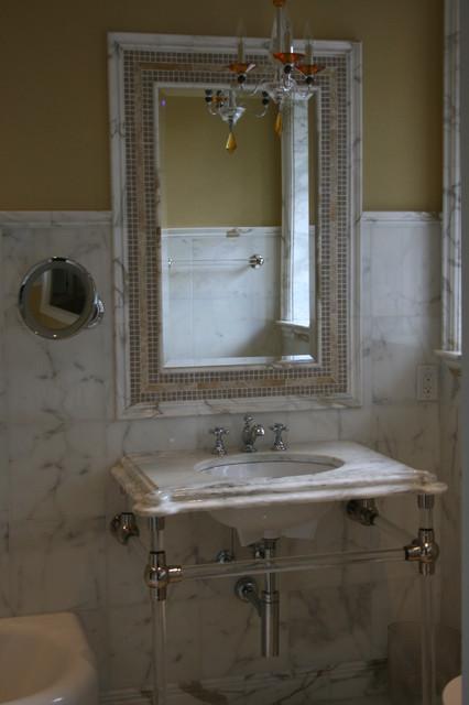 Private Residence His/Her bath mediterranean-bathroom