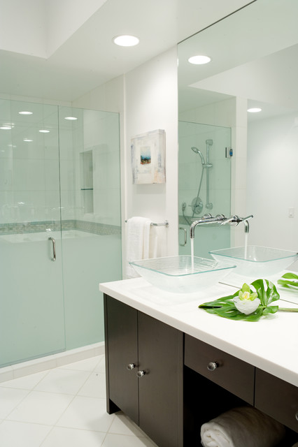 Private Residence in Century City contemporary-bathroom