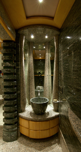 Private Residence in Madison contemporary-bathroom