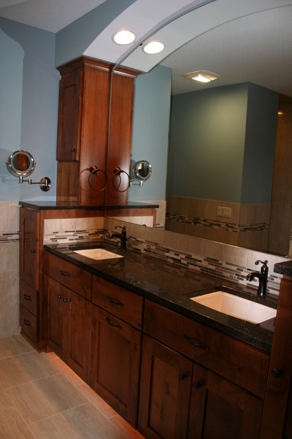 Private Residence traditional-bathroom