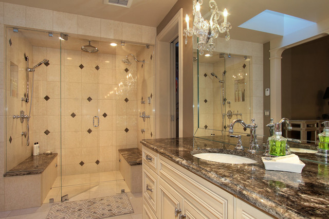 Private Residence Kelowna Bc Traditional Bathroom Vancouver By Design Evolution