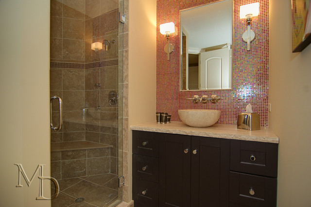 Private Residence - Naperville contemporary-bathroom