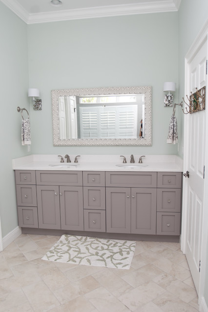 Private Residence - New Home traditional-bathroom