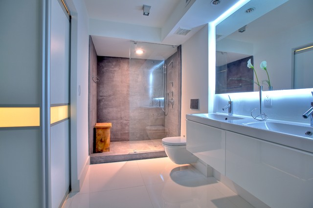 Private residence contemporary-bathroom