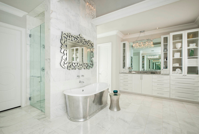 Private Residence Plano, Tx. 2014-2015 mediterranean-bathroom