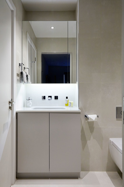 Private townhouse contemporary bathroom london by for Townhouse bathroom designs