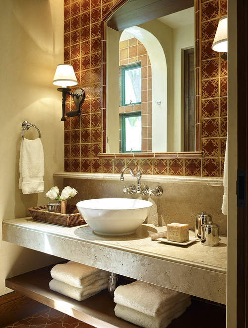 The granite gurus faq friday what is the difference for Spanish bathroom design