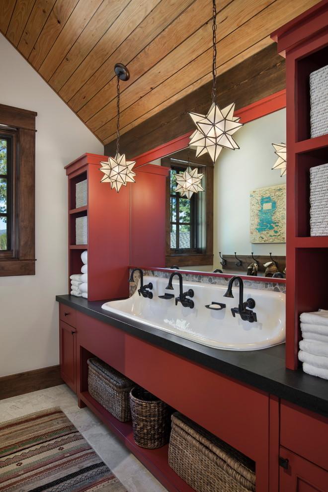 Project 640 - Rustic - Bathroom - Sacramento - by Jim ...