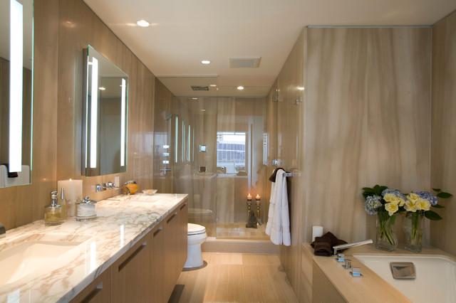 Project Fairmont Pacific Rim Contemporary Bathroom