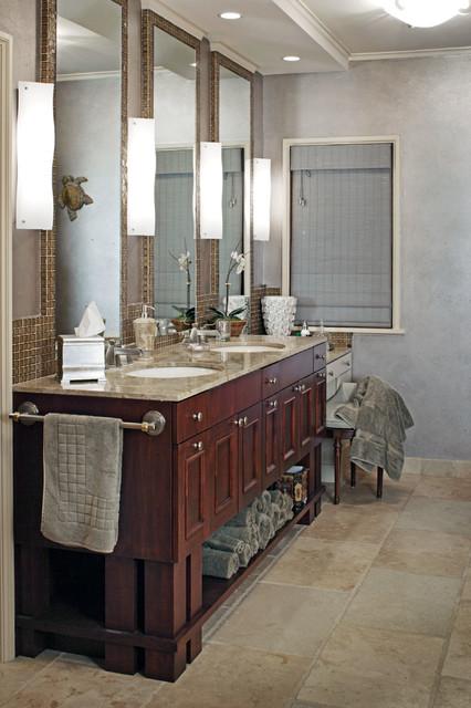 Project 'Three' traditional-bathroom