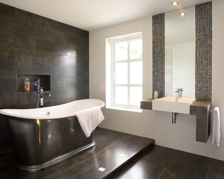 Project X Contemporary Bathroom Sussex By Jaw Interior Design