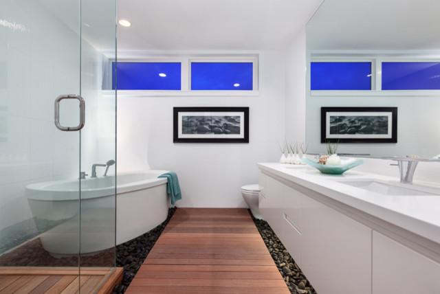 Projekt Keil modern-bathroom