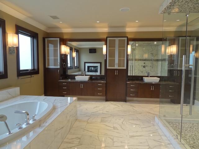 Providence Homes, High Point modern-bathroom