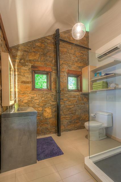 Prstojevich, Lake Lotawana modern-bathroom