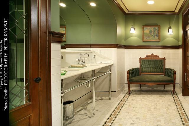 Pub Bath-Front - Craftsman - Bathroom - new york - by Carisa Mahnken ...