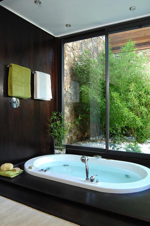 Bañeras originales en exterior