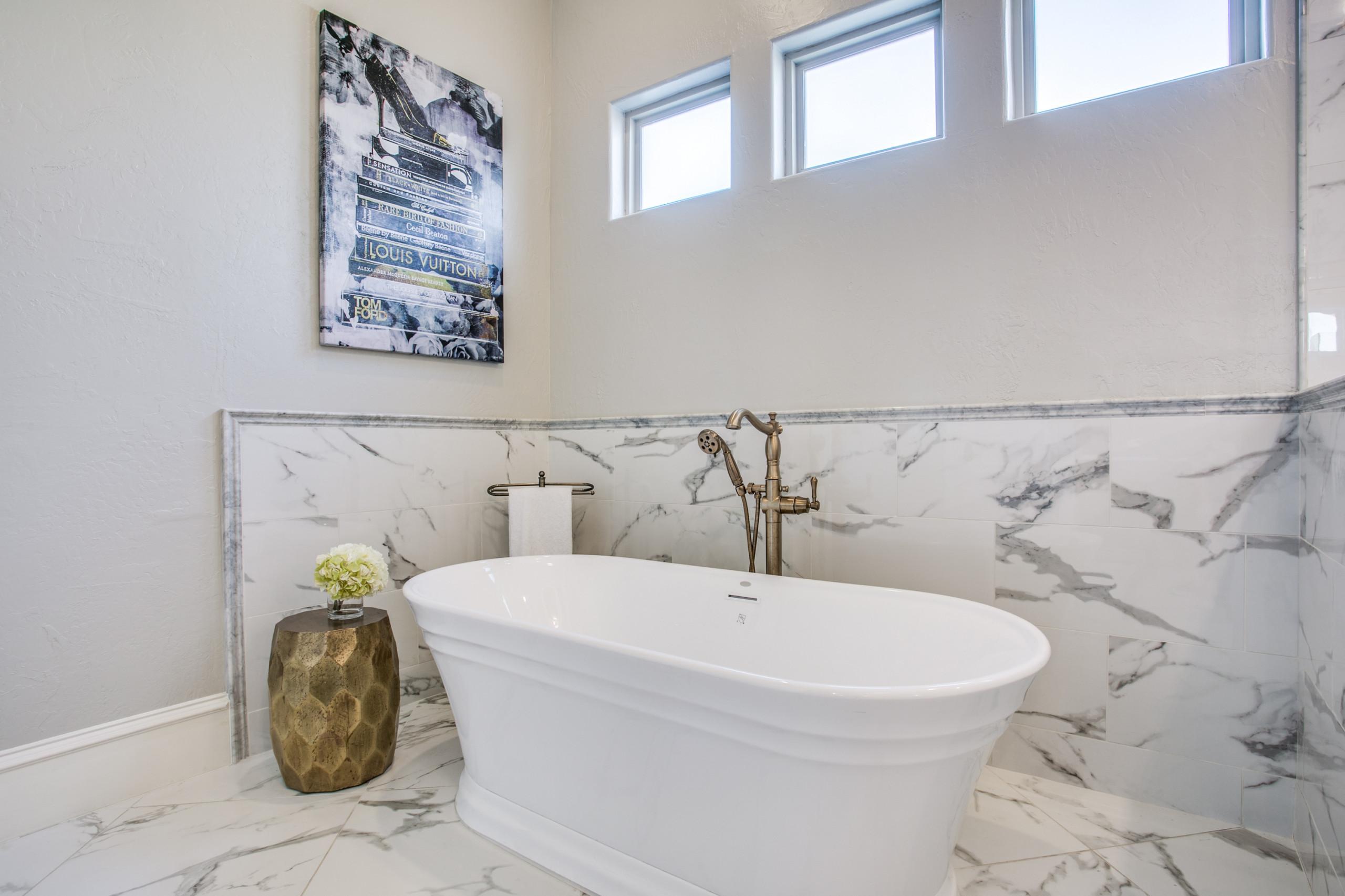 Pure Gold Master Bath