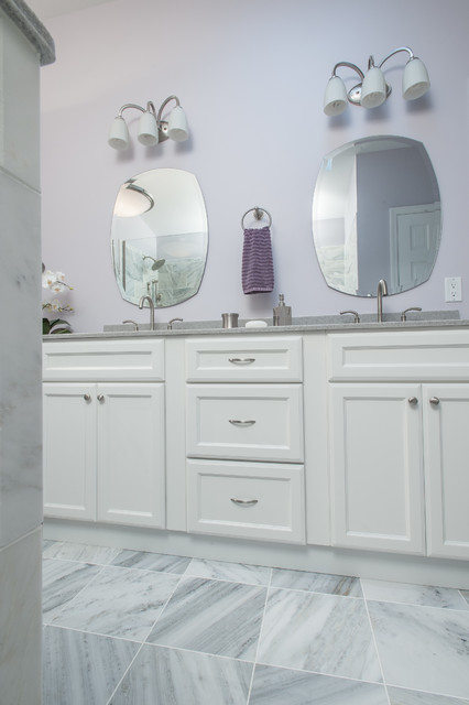 Purple and Gray Bathroom - Contemporary - Bathroom - st louis - by SWAT Design Team for ...