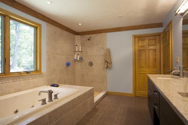 Quabbin Hills Prow contemporary-bathroom