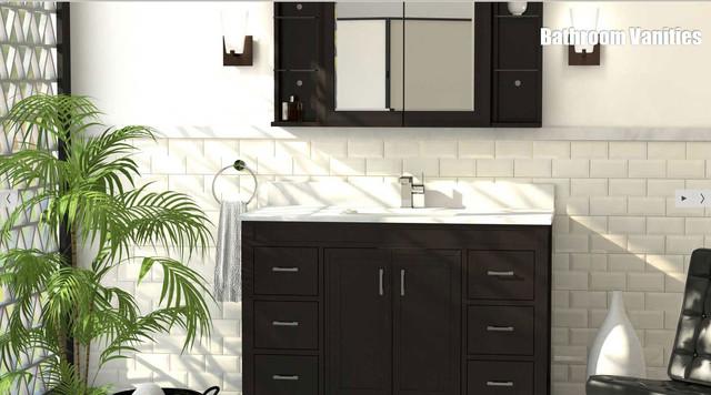 quality bathroom vanities contemporary bathroom los angeles by