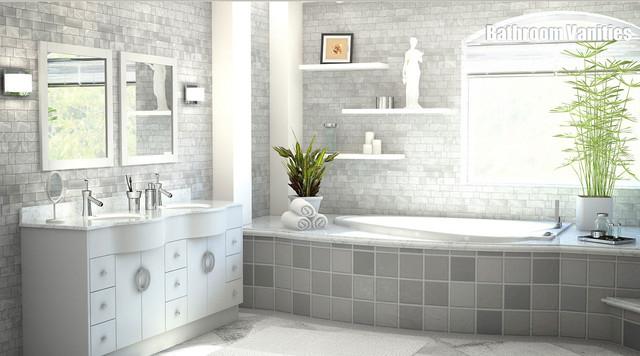 Quality Bathroom Vanities Contemporary Bathroom Los Angeles By Vaniti