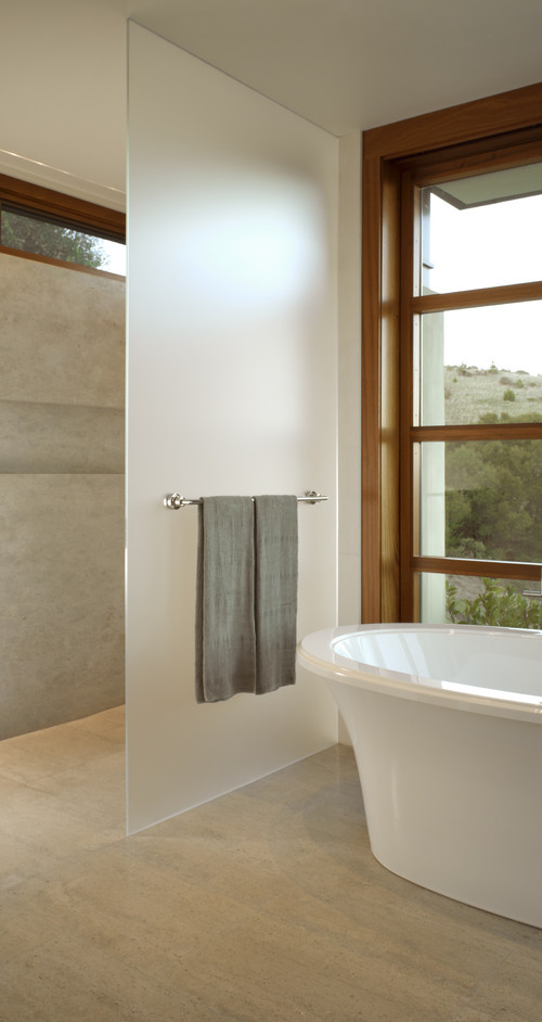 What is the towel bar height