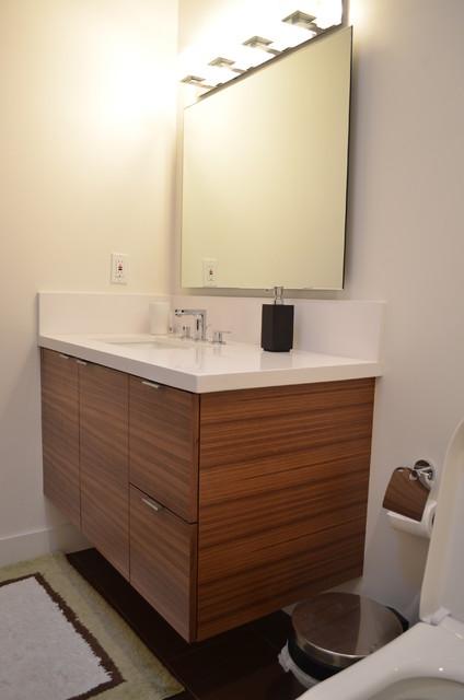 Quartered Walnut Home Remodel - Arden-Arcade - Modern - Bathroom - sacramento - by J & C Custom ...