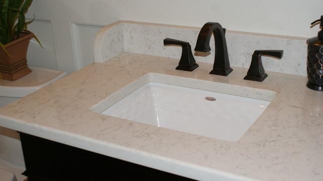 Quartz Countertops Traditional Bathroom Miami By Coastal